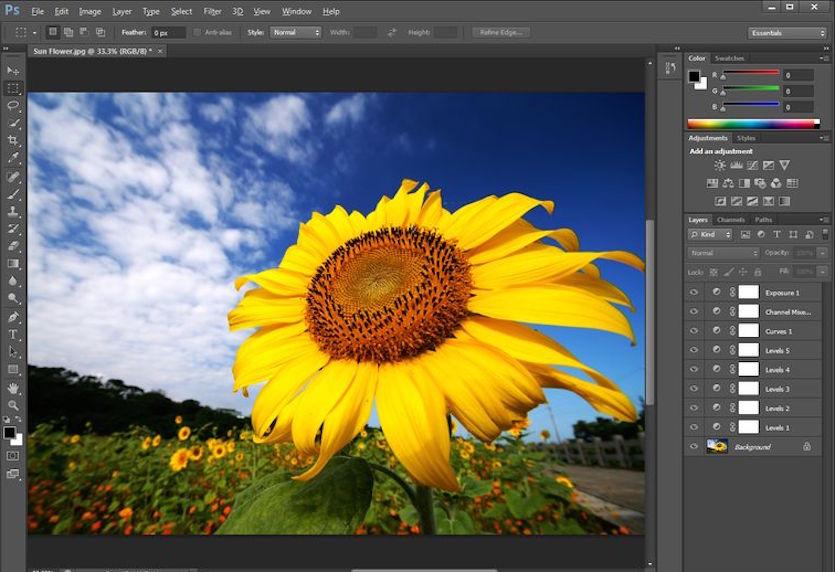 Adobe Photoshop Gratis Downloaden