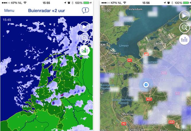 buienradar gratis app - downloaden voor android en ios op downloaden.nl