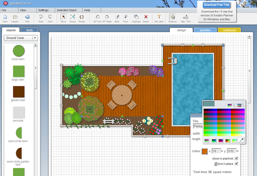 Garden Planner Voor Windows Downloaden