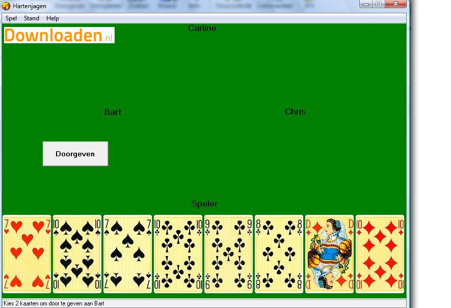 gratis kaart spelletjes downloaden Gratis Hartenjagen voor Windows downloaden   Downloaden.nl