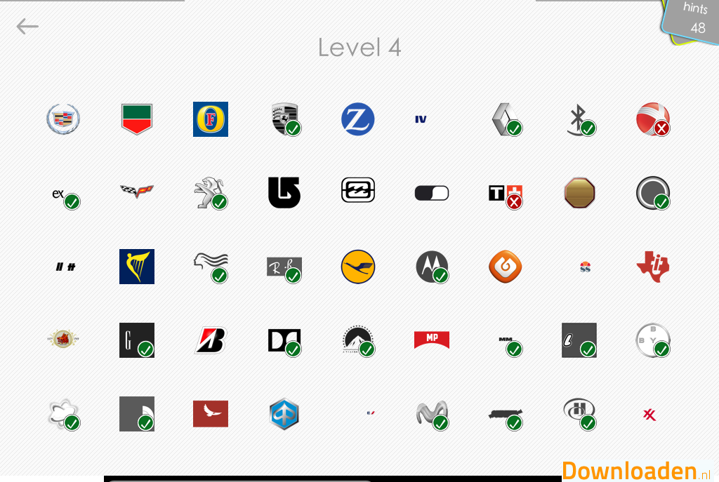 LogosQuiz - Logo's raden - Voor iOS en Android gratis te downloaden!